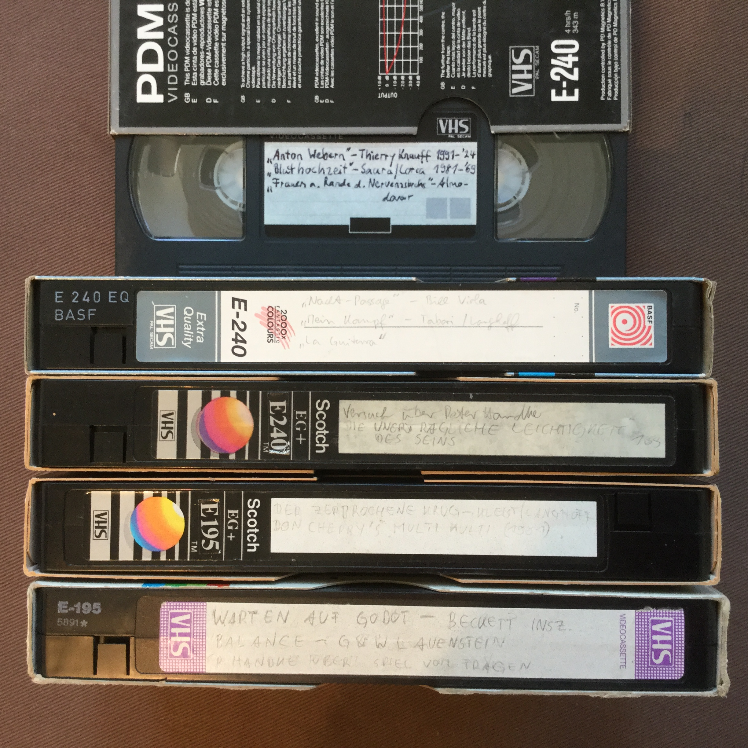 My Videotapes 2