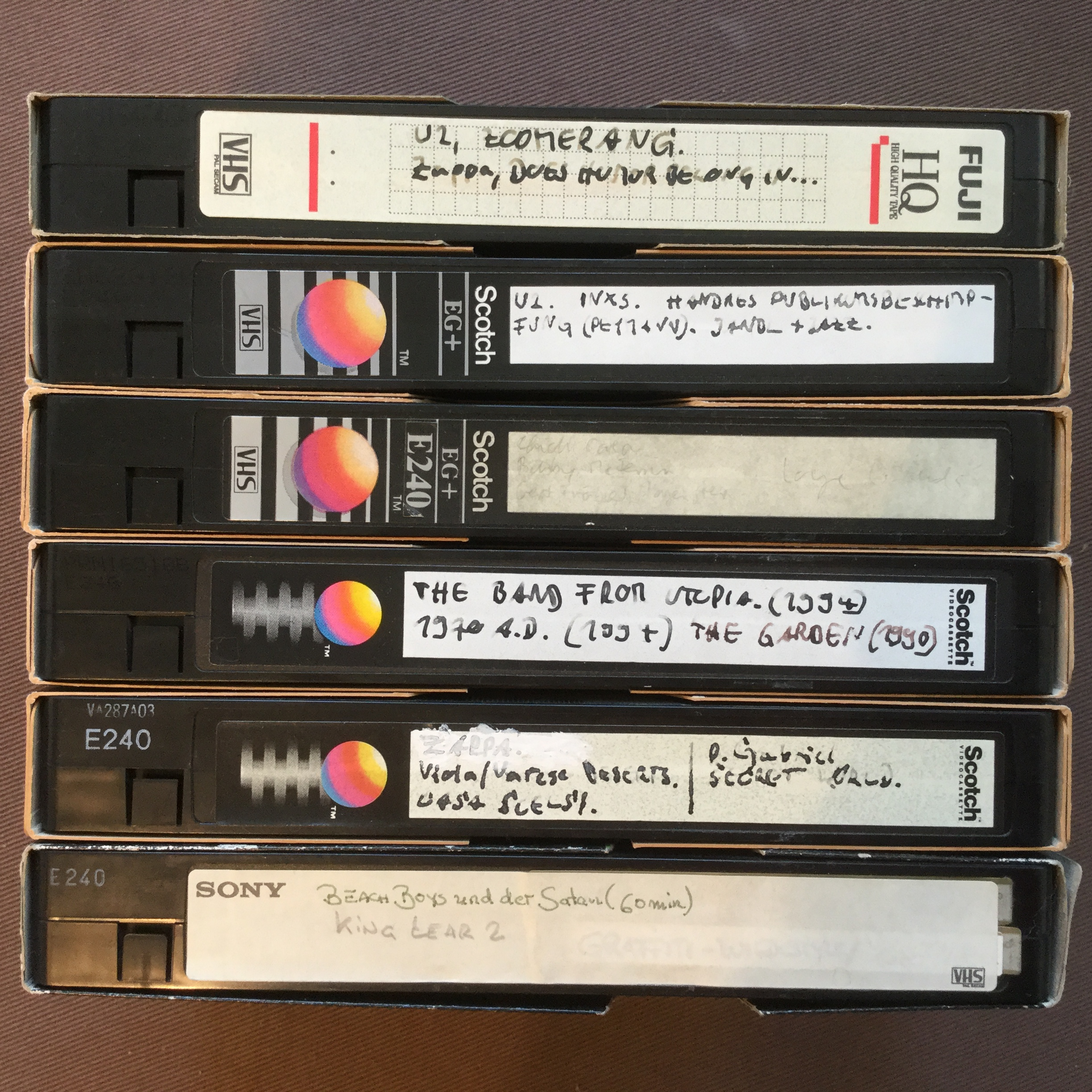 My Videotapes 3