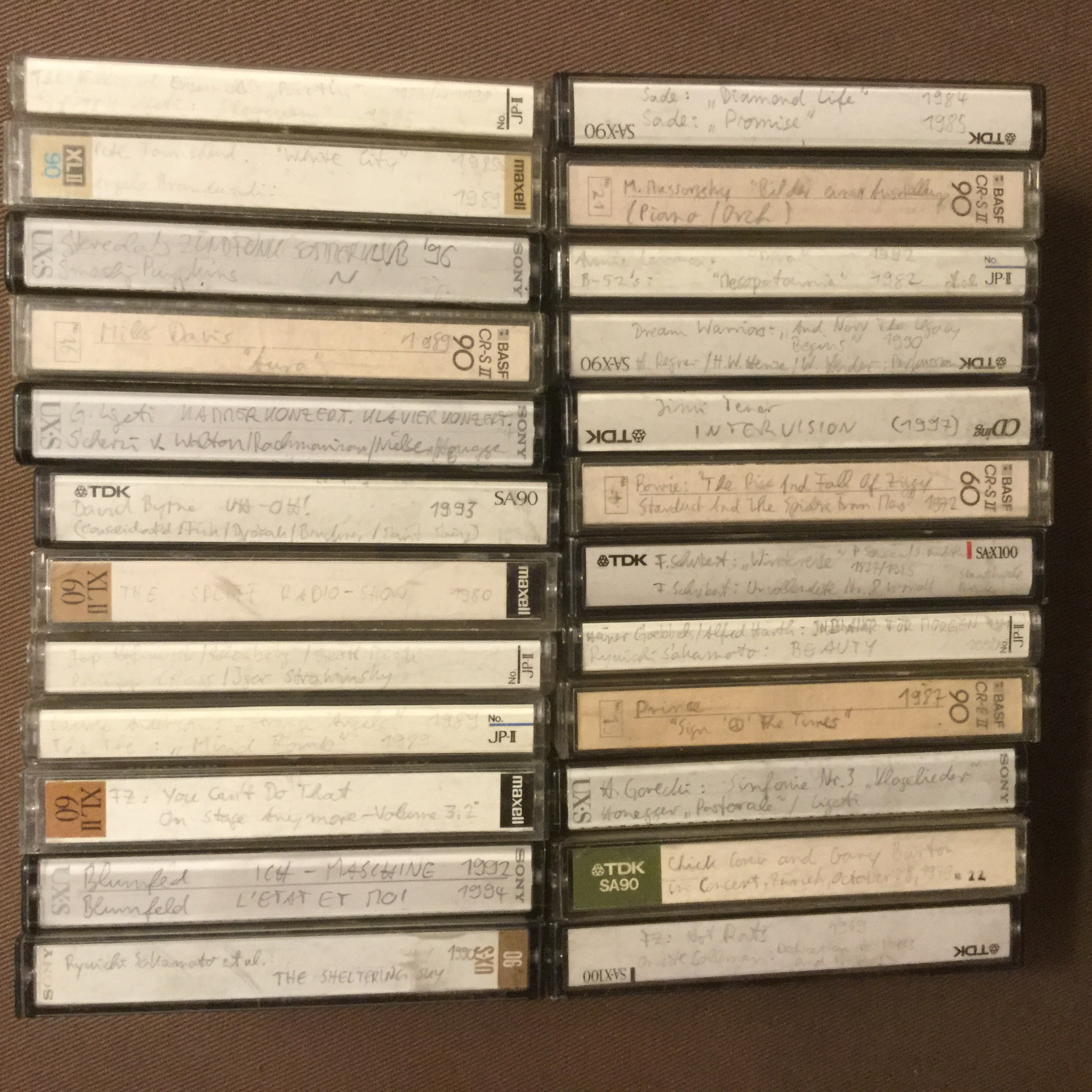 My Music Cassettes 2 (24)